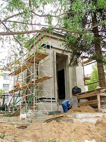 Фальшивая могила Дерябина в центре Ижевска – самая древняя могила столицы Удмуртии.